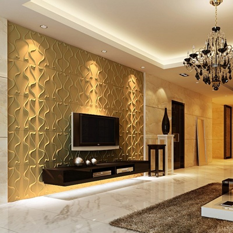 Placas decorativas de poliuretano simple painel de parede - Panel decorativo pared ...