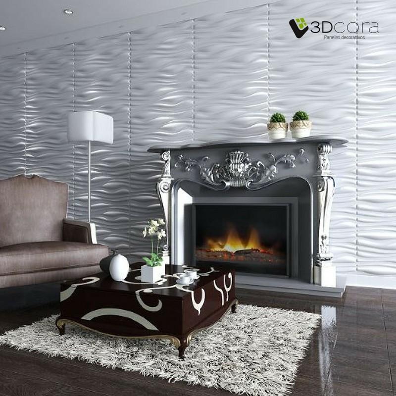 Paneles Decorativos 3D para paredes y techos - 3Dcora